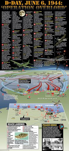 Operation Neptune: After 14 months of planning, men are landed on the German-held beaches of Normandy… D-day graphic Ww2 History, History Facts, World History, Military History, World War Ii, D Day Normandy, Normandy Beach, Normandy Invasion, D Day Landings