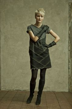 Upcycled clothing line by Reet Aus
