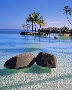 Volcanic island of Saint Lucia