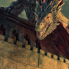 gameofthronespost's photo: Drogon in tomorrow's episode!