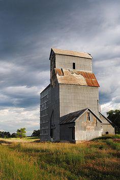 Crookston Nebraska Grain Elevator