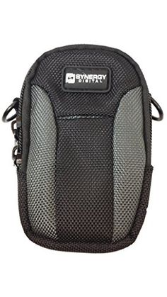 Nikon Coolpix AW130 Digital Camera Case Medium Point  Shoot Digital Camera Case Black  Grey  Replacement by Synergy * Want additional info? Click on the image. (Note:Amazon affiliate link)