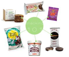 pre-packages snack food you won't mind eating.