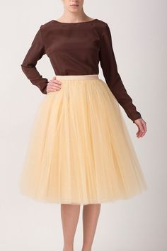 Hey, I found this really awesome Etsy listing at https://www.etsy.com/listing/165238415/vanilla-tulle-skirt-handmade-long-skirt
