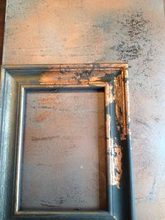 Autentico Chalk Paint and Metallic Waxes are so versatile . I created this aged copper look panel a. Copper Furniture, Refurbished Furniture, Furniture Makeover, Painted Furniture, Diy Furniture, Copper Crafts, Copper Decor, Leaf Crafts, Leaf Projects