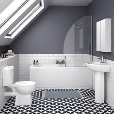 93 Cool Black And White Bathroom Design Ideas (6)