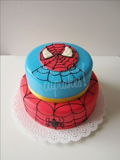 Spiderman by All you need is Cupcakes!, via Flickr