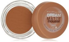 Maybelline New York Dream Matte Mousse Foundation, Caramel, Dark 2, 0.64 Ounce