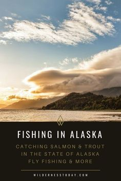 Looking for some great spots to cast your line in the 49th state? Alaska has some of the most beautiful places to Fly fish for Salmon and other types of fish! Check out our 10 favorite spots! #Fishing #LearnToFish #FlyFishing #FishAlaska #Alaska #Alask