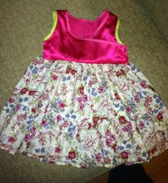 Beautiful size 18 months pink and flower dress for sale $15.00  Let me know of interested : )......SOLD