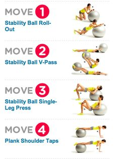 Sculpt you way to a better butt Gym Workouts, At Home Workouts, Ball Workouts, Workout Ball, Workout Routines, Fitness Diet, Yoga Fitness, Single Leg Press, Running Challenge