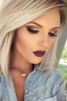 22 Awe Inspiring Fall Makeup Looks #makeup #fall #looks #2017 #autumn