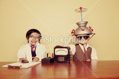 Science - Adventures in Mind Reading Royalty Free Stock Photo