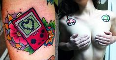 42 Nintendo Tattoos in Honour of the Late Satoru Iwata