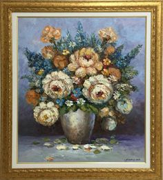 This painting conveys feelings that makes the viewer connect emotionally with it. Furthermore, it guarantees the emotional engagement of the viewers each time there is a chance to have a glance at it. Composition Art, Roses, Paintings, Flowers, Plants, Pink, Paint, Rose, Painting Art
