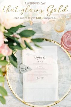 A Dreamy Watercolor Inspired Wedding Under the Redwoods – Style Me Pretty Rustic Wedding Decorations, Gold Wedding Centerpieces, Gold Wedding Theme, Wedding Day, Garden Wedding, Centrepieces, Wedding Tips, Spring Wedding, Wedding Colors