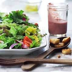 We love walnuts in this dressing but other high-fat nuts will work. Pecans and cashews also lend a creamy texture.