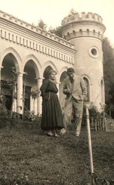 Ady Endre és Csinszka Csucsán