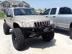 2001 on 37s - Building it up - JeepForum.com