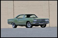 1969 Plymouth Satellite 2-Door Coupe.
