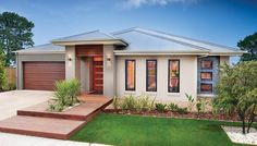 rendered houses colour schemes - Google Search