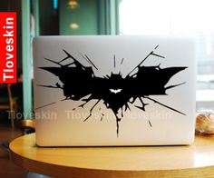 Big Batman LogoMacbook Decal Macbook Stickers Mac by Tloveskin, $9.99
