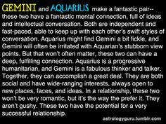 Gemini and Aquarius - I believe Tom Hiddleston was born under the sign of  Aquarius and I am a Gemini!!! Just saying......