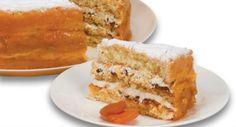 Confira a receita do bolo de amêndoas com geleia de damasco. Essa dica rende aproximadamente 15 porções. Leia também: Receita une bolo e pudim de laranja Receita de bolo gelado de pêssego Bolo de laranja de liquidificador Ingredientes: Massa 5 ovos 2 xícaras (chá) de açúcar 2 xícaras (chá) de farinha