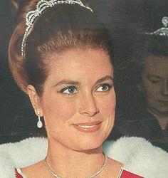 Princess Grace sporting an elegant, simpler updo.