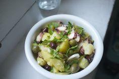 Ensalada de pulpo y patata