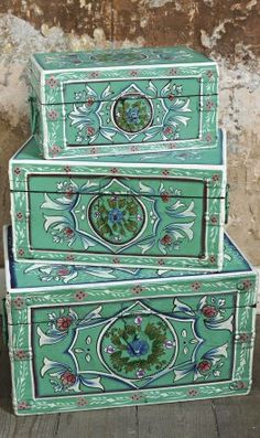 Bulgarian folk chest