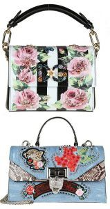 Genți și poșete de damă de vară cu imprimeu multicolor, de la 32.90 Lei | | OKO Fashion
