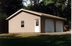 pole barn style garage | POLE GARAGE PLAN « Floor Plans