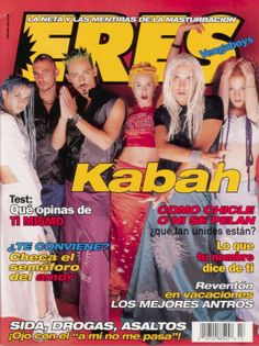 Revista Eres, Junio 2000.  Kabah.
