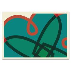 Grafikkarte »Herzblatt« http://dickoepfig.ch/produkt/grafikkarte-herzblatt/ #herz #love #heart