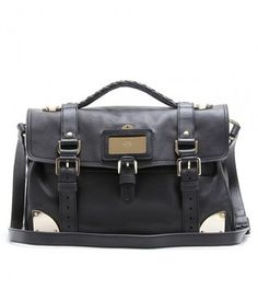 mulberry travel day leather bag