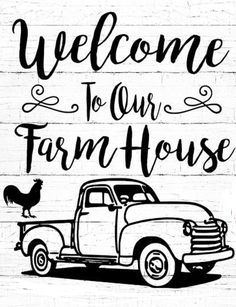 Welcome transferencia Cricut Craft Room, Cricut Vinyl, Cricut Stencils, Diy Wood Signs, Pallet Signs, Silhouette Cameo Projects, Silhouette Design, Farm Signs, Wood Burning Patterns