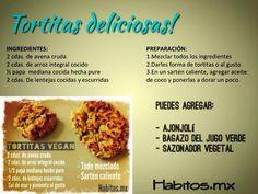 Tortitas Vegan