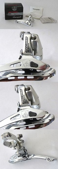 Derailleurs Front 177812: Campagnolo Record Front Derailleur 28.6 Nos 9 And 10 Speed Road Racing Bicycle -> BUY IT NOW ONLY: $240 on eBay!