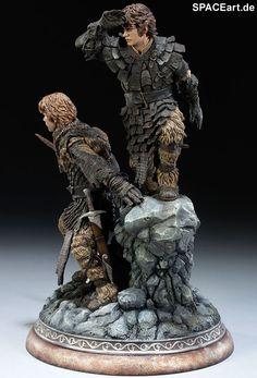 Herr der Ringe: Frodo und Samwise, Statue ... http://spaceart.de/produkte/hdr006.php