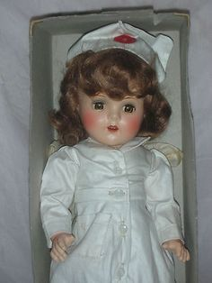 A RARE Petite Doll by American Character Nurse Sally Red Cross RN Mint in Box | eBay