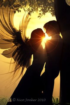 My angel leans in and breathes in my soul. I give it to her freely, for I am nothing without her strength and love.