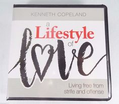 "#Pastor Kenneth #Copeland #Christian #Ministries four (4) pc. ""A Lifestyle of Love--Living Free from Strife and Offense"" #audio #CD CD-ROM audio-book #religious & #spiritual #teaching #disc #series with #devotional #sermon messages, brand new & unused in clear plastic sealed protective shrink-wrap packaging & clam-shell case with original cover art paper insert…"