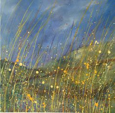 Denise's Gallery shows her stunning paintings of summer meadows, wild lavender fields, breezy skies and easy living. Crashing Waves, Lavender Fields, Colorful Paintings, Painting & Drawing, Oil On Canvas, Sky, French, Fine Art, Gallery