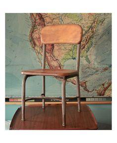 Heywood Wakefield Chair - School Chair. $55.00, via Etsy.