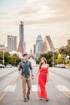 Eric + Jen | Downtown Austin Engagement session — pglphotography
