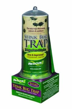 Rescue SBTR-SF4 Reusable Stink Bug Trap by Rescue. $12.49. Stink bugs dehydrate for easy disposal. 7 Week outdoor attractant refills sold separately. Non toxic mode of action. Reusable stink bug trap. Reduces damage to gardens and fruit trees. Reusable Stink Bug Trap is used outside in spring, summer and early fall. These pest insects within a 30 foot radius using multiple pheromone attractants. The stink bugs crawl or fly to the trap, walk up the green fins and ...