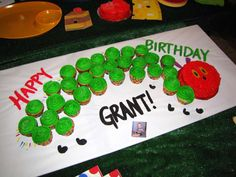 Very Hungry Caterpillar Birthday Party Ideas | Photo 1 of 13 | Catch My Party