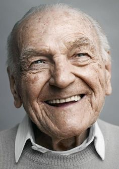 'Happy at Hundred' - Beautiful Portraits of People Who are 100 Years Old