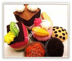 Ciastka z filcu - zestaw dla dzieci